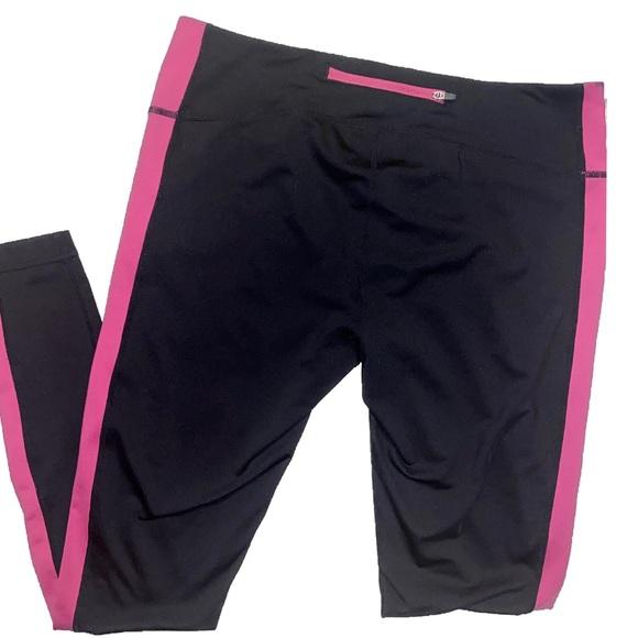 Z by Zella Black & Pink Athletic Pants/Leggings